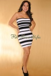 andrea calle, Black-White Stripes LUXE