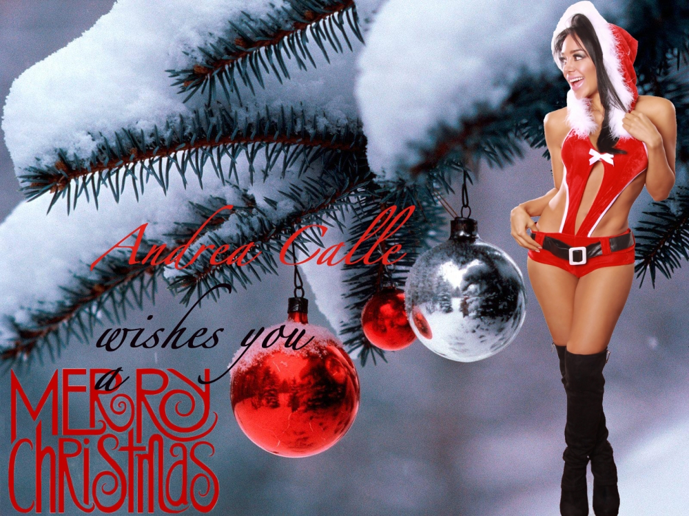 Andrea Calle, merry cristmans, merry xmas,