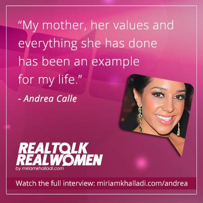 realtalk, real women, andrea calle