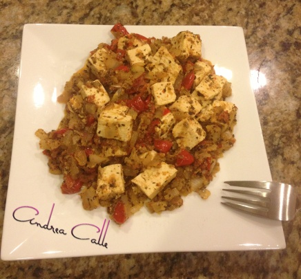 tofu, meal, healthy, low calories, andrea calle, recipe