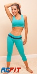 Aqua, blue set front, active wear, ac fit