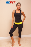 black and yellow set, active wear, ac fit
