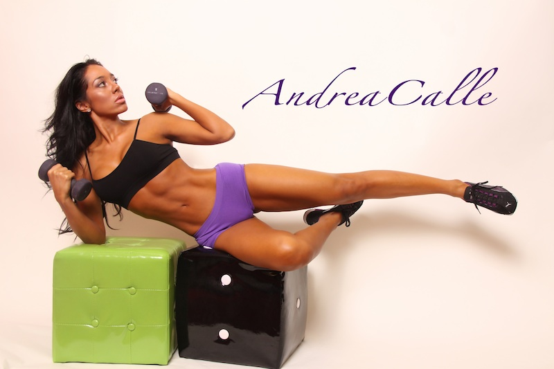 andrea calle,fitness