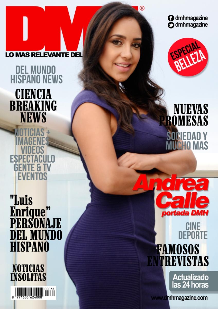 Andrea Calle portada en DMH Magazine®